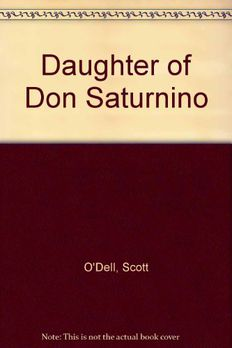 The Daughter of Don Saturnino book cover