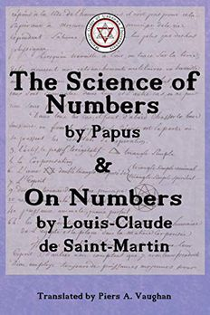 The Numerical Theosophy of Saint-Martin & Papus book cover
