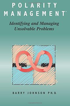 Polarity Management book cover