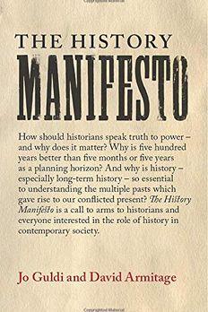 The History Manifesto book cover
