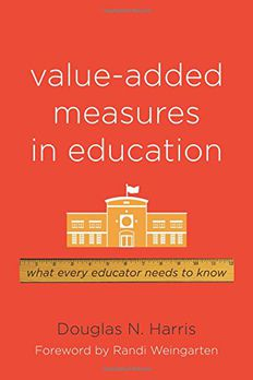 Value-Added Measures in Education book cover