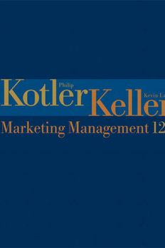 Marketing Management book cover