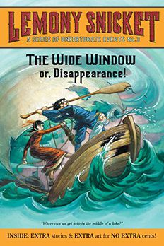 The Wide Window book cover