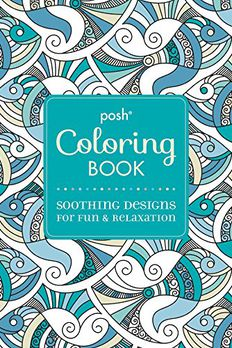 Posh Adult Coloring Book book cover