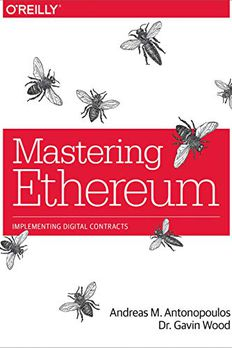 Mastering Ethereum book cover