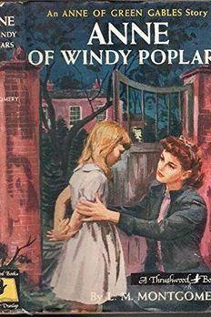 Anne of Windy Poplars book cover