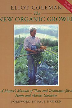 The New Organic Grower book cover