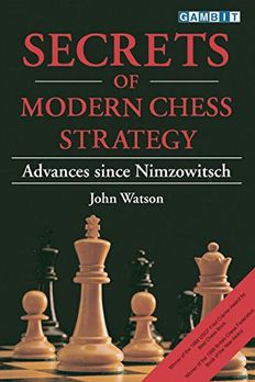 Secrets of Modern Chess Strategy book cover