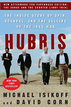 Hubris book cover