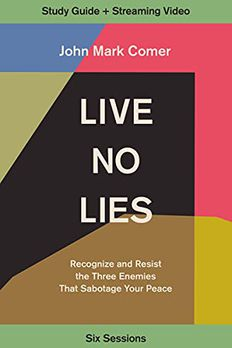 Live No Lies Study Guide plus Streaming Video book cover