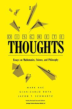Discrete Thoughts book cover