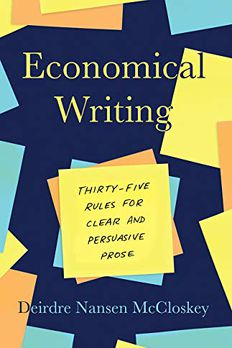 Economical Writing, Third Edition book cover