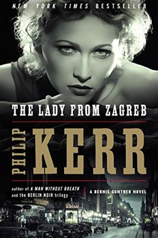 The Lady from Zagreb book cover