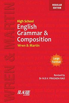 High School English Grammar & Composition book cover