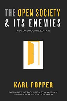 The Open Society and Its Enemies book cover