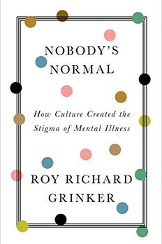 Nobody's Normal book cover