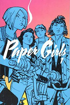 Paper Girls Volume 1 book cover