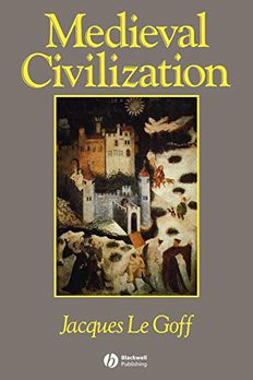 Medieval Civilization 400 - 1500 book cover
