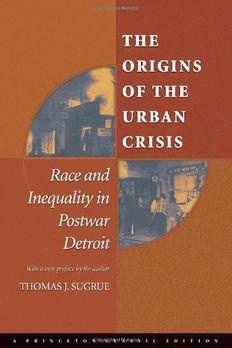 The Origins of the Urban Crisis book cover