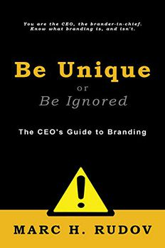 Be Unique or Be Ignored book cover