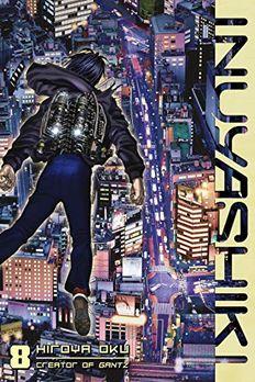Inuyashiki 8 book cover