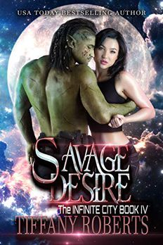Savage Desire book cover