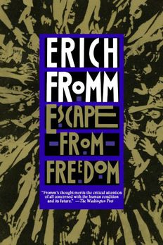 Escape from Freedom book cover
