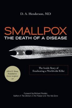 By D.A. Henderson - Smallpox book cover