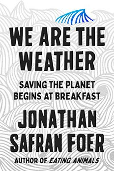 We Are the Weather book cover