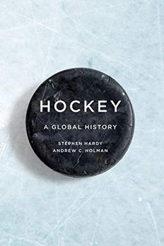 Hockey book cover