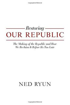 Restoring Our Republic book cover