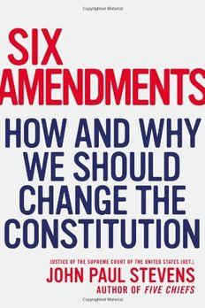 Six Amendments book cover