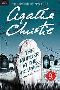 The Murder at the Vicarage book cover