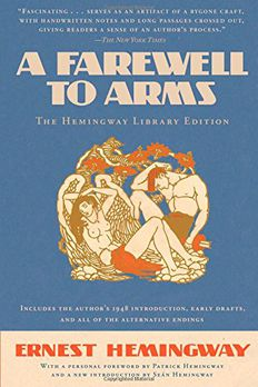 A Farewell to Arms book cover