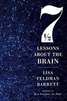 Seven and a Half Lessons About the Brain book cover