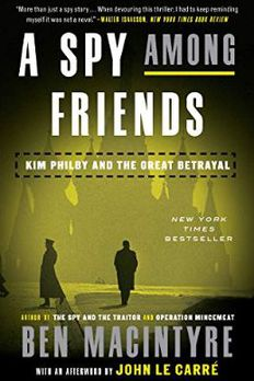 A Spy Among Friends book cover