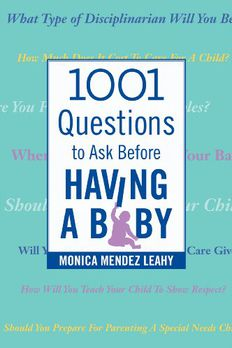 1001 Questions to Ask Before Having a Baby book cover