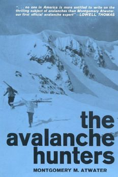 The Avalanche Hunters book cover