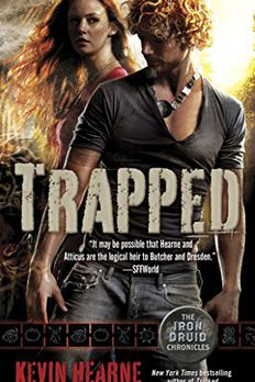 Trapped book cover