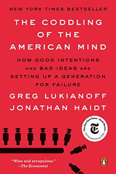 The Coddling of the American Mind book cover