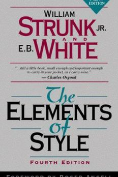 The Elements of Style, Fourth Edition book cover