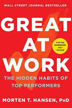 Great at Work book cover