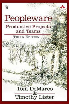 Peopleware book cover