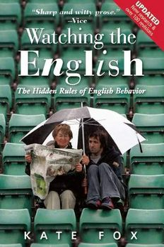 Watching the English book cover