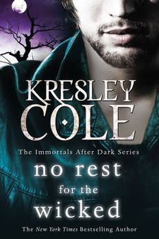 No Rest for the Wickedby Kresley Cole book cover