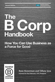 The B Corp Handbook, Second Edition book cover