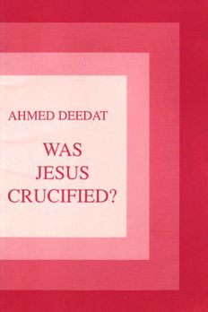 Was Jesus Crucified? book cover
