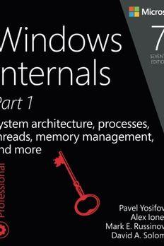 Windows Internals, Part 1 book cover