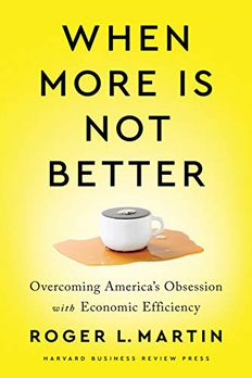 When More Is Not Better book cover