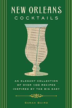 New Orleans Cocktails book cover
